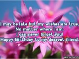 Happy Belated Birthday Quotes for Friends Late Birthday Wishes