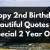 Happy Birthday 2 Year Old Quotes Happy 2nd Birthday 51 Heartfelt and Beautiful Quotes