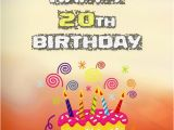Happy Birthday 20 Years Old Quotes 20th Birthday Wishes Birthday Messages for 20 Year Olds