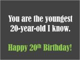 Happy Birthday 20 Years Old Quotes 20th Birthday Wishes to Write In A Card Holidappy