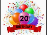 Happy Birthday 20 Years Old Quotes 40 20th Birthday Wishes