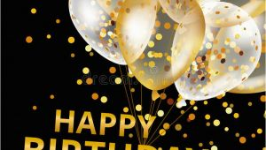 Happy Birthday 49ers Banner Balloons Happy Birthday Stock Vector Illustration Of