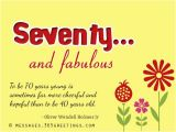 Happy Birthday 70 Years Old Card 70th Birthday Wishes and Messages 365greetings Com
