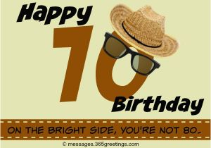 Happy Birthday 70 Years Old Card 70th Wishes And Messages 365greetings Com