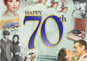 Happy Birthday 70 Years Old Card A And Gift 1941 Star Cd Greeting