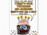 Happy Birthday 70 Years Old Card Happy Birthday Cupcake 70 Years Old Card