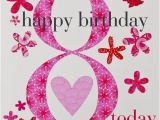 Happy Birthday 8 Year Old Card Claire Giles Biglietto Di Auguri Per Compleanno Per