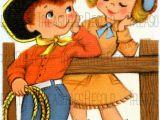 Happy Birthday 8 Year Old Card Happy Birthday 8 Year Old Cowboy Cowgirl Card 277 Digital