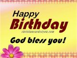 Happy Birthday and God Bless You Quotes Free Christian Cards for You