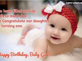 Happy Birthday Baby Girl Cards 40 Happy Birthday Wishes for Baby Girl Happy Wishes