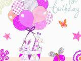Happy Birthday Baby Girl Cards Happy 1st Birthday Baby Girl Card Www Imgkid Com the