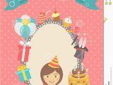 Happy Birthday Baby Girl Cards Happy Birthday Card for Girl Stock Vector Image 46021048