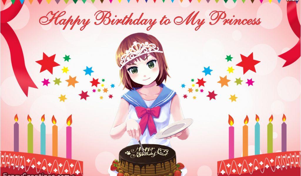 Happy Birthday Baby Girl Cards Wishes Ecard