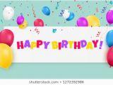 Happy Birthday Balloon Banner asda Happy Birthday Poster Images Stock Photos Vectors