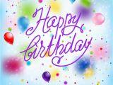 Happy Birthday Balloon Banner Card Factory Happy Happy Birthday Vector Illustration Cartoondealer