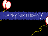 Happy Birthday Balloon Banner Clipart Happy Birthday Banner Blue Holiday Birthday Happy