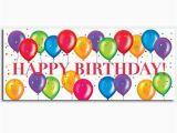 Happy Birthday Balloon Banner New Look Birthday Balloons Quot Happy Birthday Quot Banner
