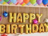 Happy Birthday Balloon Banner Silver asda Self Inflating Happy Birthday Banner Foil Balloon Bunting