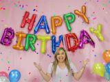 Happy Birthday Balloon Banner Uk 16 39 Large 13pc Foil Banner Happy Birthday Letters Balloon