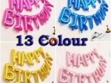 Happy Birthday Balloon Banner Uk Uk Banner Bunting Large Happy Birthday Self Inflating
