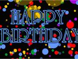 Happy Birthday Banner 4k Happy Birthday Animated Text In Pink with Fireworks