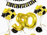 Happy Birthday Banner 50s Zljq 48pcs 50 Years Old Birthday Party Decoration Balloon