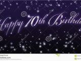 Happy Birthday Banner 70th Happy 70th Birthday Banner Stock Illustration