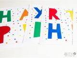 Happy Birthday Banner 99 Cent Store Happy Birthday Countdown Banner Printable
