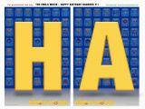 Happy Birthday Banner App Free Emoji Movie Printable Birthday Party Decorations
