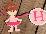 Happy Birthday Banner Australia Items Similar to Ballerina Happy Birthday Banner Custom