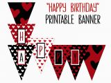 Happy Birthday Banner Australia Printable Happy Birthday Banner Birthday Party Printable
