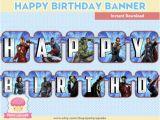 Happy Birthday Banner Avengers 80 Off Sale Happy Birthday Banner Avengers Instant Download