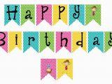 Happy Birthday Banner Background English Printable Alphabet Templates Business Card Website