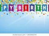 Happy Birthday Banner Blue Background Happy Birthday Images Stock Photos Vectors Shutterstock