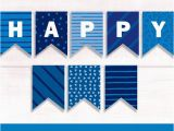 Happy Birthday Banner Blue Printable Happy Birthday Banner Blue Printable Banner Blue Happy