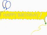 Happy Birthday Banner Clipart Free Happy Birthday Banner Clipart Clipart Best