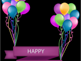 Happy Birthday Banner Clipart Png Happy Birthday Banner with Balloons Transparent Png Clip