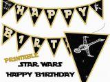 Happy Birthday Banner Creator Star Wars Banner Star Wars Happy Birthday Banner Star Wars