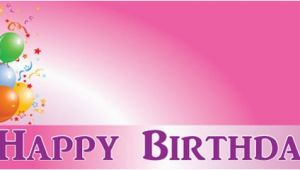 Happy Birthday Banner Design Pics Happy Birthday Faded Pink Celebration Design Personalised