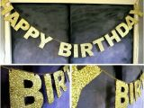 Happy Birthday Banner Dollar Store Aliexpress Com Buy Gold Sparkly Glitter Banner Happy