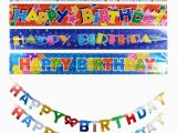 Happy Birthday Banner Dollar Store Banner Dollar Tree Inc