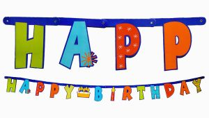 Happy Birthday Banner Dollar Tree Birthday Banner Dollartree Com