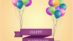 Happy Birthday Banner Download Free Happy Birthday Banner with Balloons Vector Free Download
