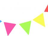 Happy Birthday Banner Drawing Happy Birthday Banner Vector Clip Art Library