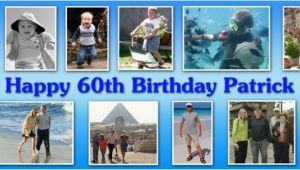 Happy Birthday Banner Edit Photo Bannerama Personalised Banners