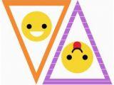Happy Birthday Banner Emoji Free Emoji Party Printable Happy Birthday Banner