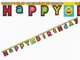Happy Birthday Banner Emoji Sweet Pea Parties Happy Birthday Banners