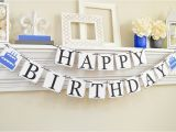 Happy Birthday Banner for Adults Birthday Banner Adult Birthday Banner Happy Birthday Sign