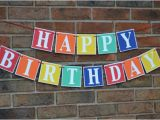Happy Birthday Banner for Adults Birthday Banner Happy Birthday Happy Birthday