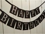 Happy Birthday Banner for Adults Happy Birthday Banner Birthday Banner Adult Birthday